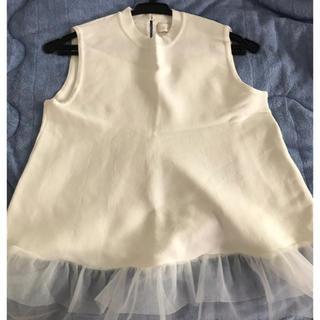 アンドクチュール(And Couture)のアンドクチュール  ニットノースリーブ(カットソー(半袖/袖なし))