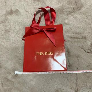 ザキッス(THE KISS)のTHE KISS ショップバッグ(ショップ袋)