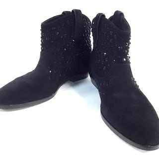 マイケルコース(Michael Kors)のマイケルコース ショートブーツ 38.5 黒(ブーツ)