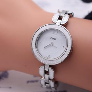 フェンディ(FENDI)の正規品【新品電池】FENDI 35000S/マイウェイ セラミック 動作品(腕時計)