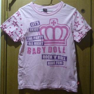 BABYDOLL - ベビードール ディズニー ミッキーのTシャツ サイズS <b408>