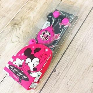 ディズニー(Disney)のミニー ステレオイヤホン DN115VPK(ヘッドフォン/イヤフォン)