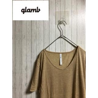 グラム(glamb)のglamb/グラム  無地Tシャツ(Tシャツ/カットソー(半袖/袖なし))