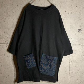 ジーナシス(JEANASIS)のJEANASIS ジーナシス ビックTシャツ スリットプルオーバー(Tシャツ(半袖/袖なし))