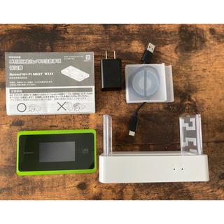エヌイーシー(NEC)の最新モバイルルーター WX06(その他)