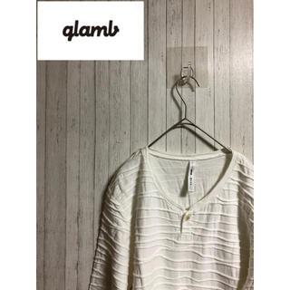 グラム(glamb)のglamb グラム  七分丈Tシャツ(Tシャツ/カットソー(七分/長袖))