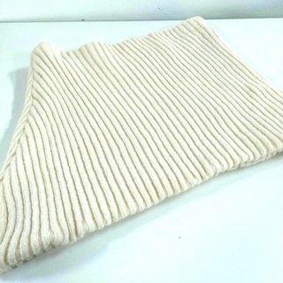 バレンシアガ(Balenciaga)のバレンシアガ マフラー美品  アイボリー(マフラー/ショール)