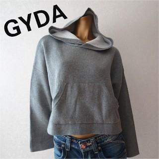 ジェイダ(GYDA)の《新品・未使用》GYDA[2019]ダブルフェイスニットパーカー(ニット/セーター)