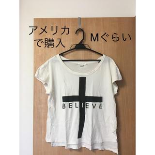 レディース Tシャツ カットソー トップス S か M(Tシャツ(半袖/袖なし))