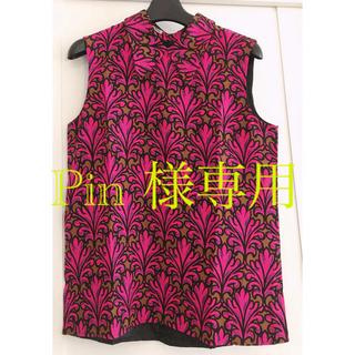 ミュウミュウ(miumiu)のミュウミュウmiumiuトップス(シャツ/ブラウス(半袖/袖なし))