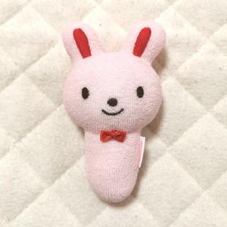 ミキハウス(mikihouse)のガラガラ ラトル 新生児 ベビー おもちゃ 人形 ぬいぐるみ(がらがら/ラトル)