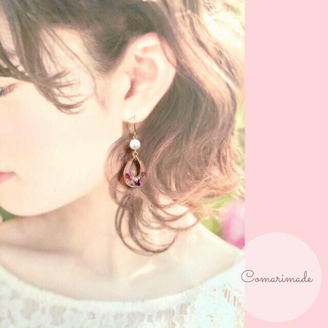 さくら様専用ページ♡【ノンホールピアス】 ハンドメイドのアクセサリー(ピアス)の商品写真