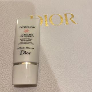 ディオール(Dior)のDior 日焼け止め乳液 SPF+50 PA++++ 一度使用のみです✨(乳液/ミルク)