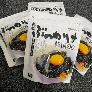 コストコ(コストコ)の元祖ぶっかけ韓国のり 4袋セット*(乾物)