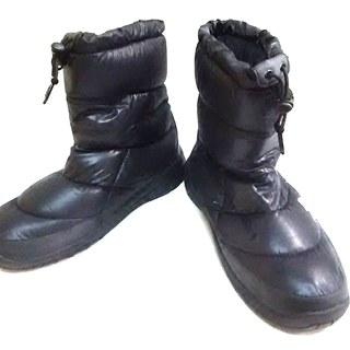 ザノースフェイス(THE NORTH FACE)のノースフェイス ショートブーツ メンズ 黒(ブーツ)