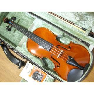 スズキ(スズキ)の【美品】国産 スズキバイオリン SUZUKI No.500 4/4 付属品セット(ヴァイオリン)