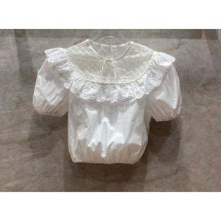 ミュウミュウ(miumiu)の☆MIU MIU☆ x リバティロンドン・花柄フリルトップス♪(シャツ/ブラウス(半袖/袖なし))