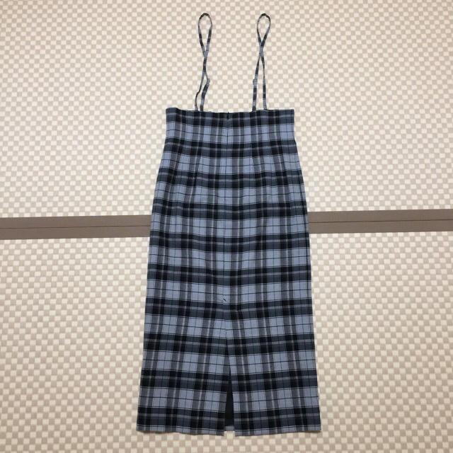 Spick and Span Noble(スピックアンドスパンノーブル)のSpick & Span NOBLE ショルダーストラップスカート レディースのスカート(ロングスカート)の商品写真