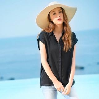Rady - ♡Regalect♡フレンチスリーブシャツ♡ブラック♡