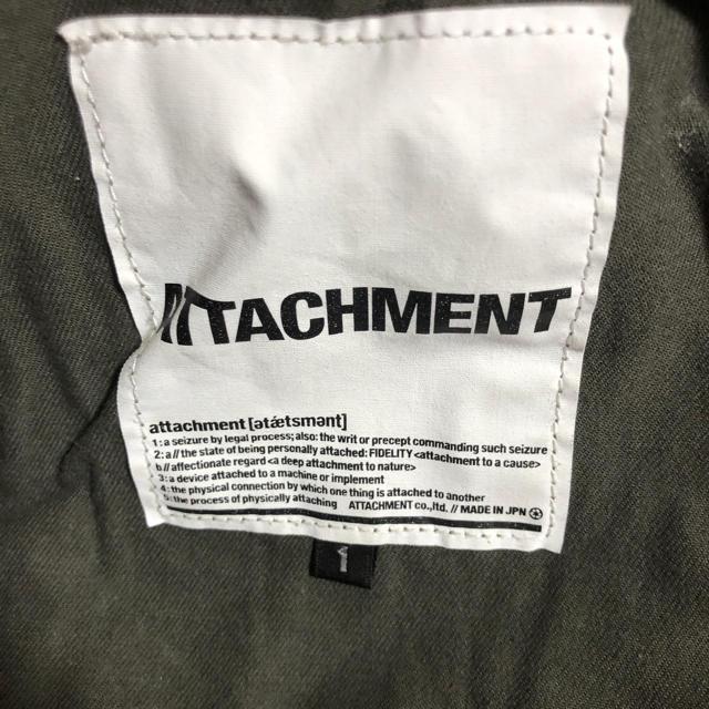 ATTACHIMENT(アタッチメント)のアタッチメント ショートカーゴパンツ メンズのパンツ(ワークパンツ/カーゴパンツ)の商品写真