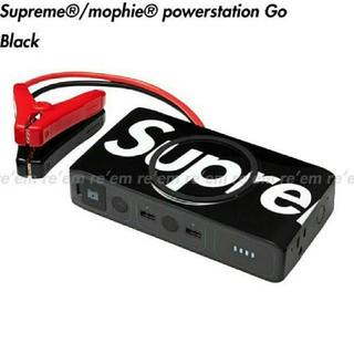 シュプリーム(Supreme)のSupreme / mophie powerstation Go Black(バッテリー/充電器)