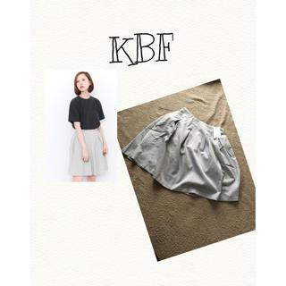 ケービーエフ(KBF)の【新品タグつき】KBF☆ヒッコリー風スカート(ミニスカート)