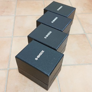 ジーショック(G-SHOCK)の【G-SHOCK/ボックスケース】腕時計用 空箱 4個セット(その他)
