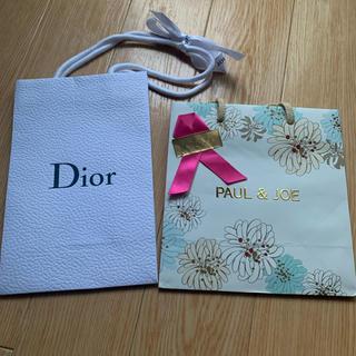 ディオール(Dior)のDior PAUL&JOE 紙袋 ショッパー ラッピング袋 包装(ラッピング/包装)