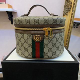Gucci - GUCCI グッチ バニティ ポーチ バック 新品 未使用 箱付き