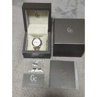 ゲス(GUESS)の連休特価: スイスブランド Gc  男性用腕時計クロノグラフ (新品電池交換)(腕時計(アナログ))