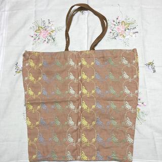 ミナペルホネン(mina perhonen)の🌼タグ付き新品 ミナペルホネン   mela  トートバッグ(大)🌼(トートバッグ)