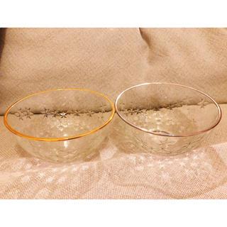 バーニーズニューヨーク(BARNEYS NEW YORK)のはるさん専用⭐︎バーニーズニューヨーク ガラス製サラダボウル2個セット(食器)