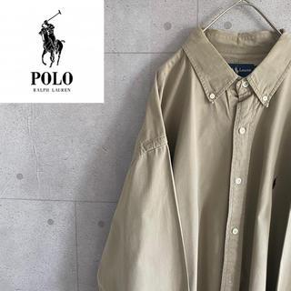 ポロラルフローレン(POLO RALPH LAUREN)のラルフローレンBDシャツ 刺繍ロゴ(シャツ/ブラウス(半袖/袖なし))