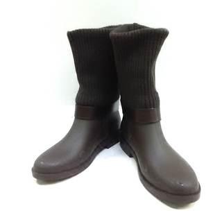 サルヴァトーレフェラガモ(Salvatore Ferragamo)のサルバトーレフェラガモ レインブーツ 6(レインブーツ/長靴)