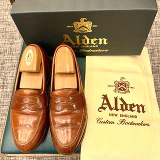 Alden - 《Alden×BEAMS》99851ローファー 7Dカーフ