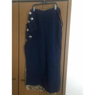 コムデギャルソン(COMME des GARCONS)のsulvam 19awウールスカート(ロングスカート)