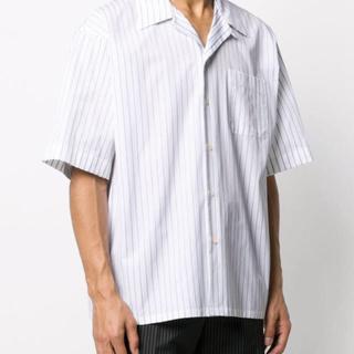 マルニ(Marni)の期限界価格!MARNI マルニ 20SS ストライプオープンカラーシャツ 46(シャツ)