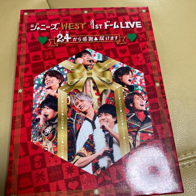 ジャニーズWEST(ジャニーズウエスト)のジャニーズWEST/ジャニーズWEST 1stドーム LIVE ♡24(ニシ)… エンタメ/ホビーのDVD/ブルーレイ(ミュージック)の商品写真