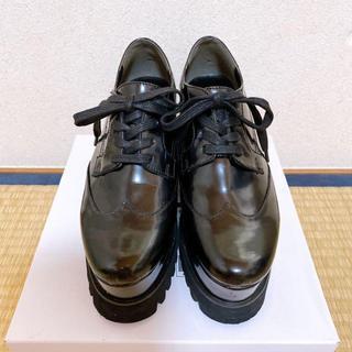 アンクルージュ(Ank Rouge)のAnk Rouge アンクルージュ 厚底シューズ ブラック(ローファー/革靴)