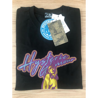 ヒステリックグラマー(HYSTERIC GLAMOUR)のHYSTERIC GLAMOUR コラボTシャツ 新品未使用(Tシャツ/カットソー(半袖/袖なし))