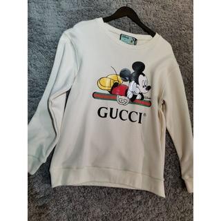 グッチ(Gucci)の未使用 コラボ【ディズニーxグッチ】オーバーサイズ スウェットシャツ(トレーナー/スウェット)