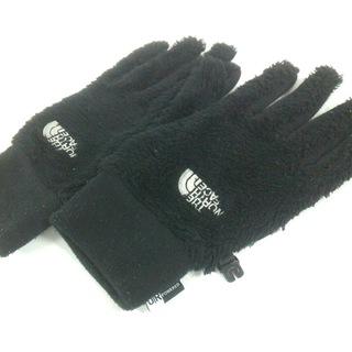 ザノースフェイス(THE NORTH FACE)のノースフェイス 手袋 L レディース 黒(手袋)