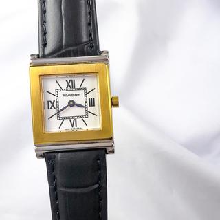 サンローラン(Saint Laurent)の【仕上済】サンローラン スクエア コンビ レディース  腕時計(腕時計)