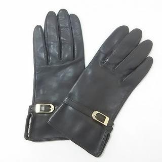 バーバリー(BURBERRY)のバーバリー 手袋 レディース美品  ブラウン(手袋)