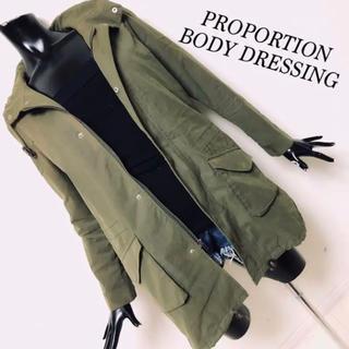 プロポーションボディドレッシング(PROPORTION BODY DRESSING)のPROPORTION BODY DRESSING ミリタリージャケット(ミリタリージャケット)