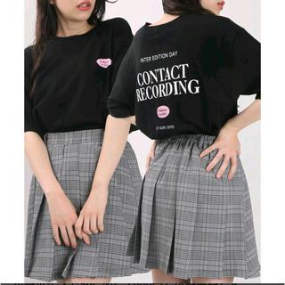ウィゴー(WEGO)のW♡C ダブリューシー WEGO ロゴ 韓国 原宿 ガーリー カジュアル(Tシャツ(半袖/袖なし))
