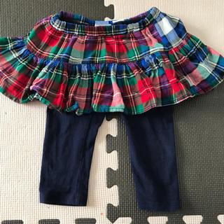 ベビーギャップ(babyGAP)のスカッツ スカート 80 baby GAP(スカート)