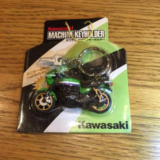 カワサキ(カワサキ)のカワサキマシーンキーホルダー Z1000R ライムグリーン(その他)