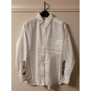 ブランバスク(blanc basque)のブランバスク BLANC basque シャツ ブラウス 長袖 白 ホワイト(シャツ/ブラウス(長袖/七分))