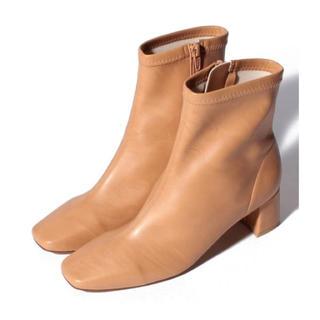 アーバンリサーチ(URBAN RESEARCH)の新品✨タグ付き♪ 定価19800円 ストレッチのあるブーツ キャメル 大特価❣️(ブーツ)